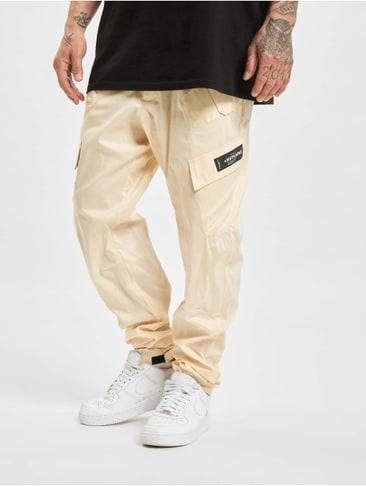 Just Rhyse Männer Cargohose Jeans Börge in olive Größe W30 bis W40