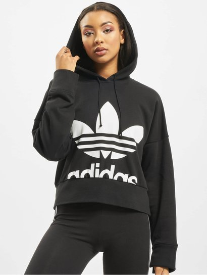 Adidas Originals Cropped Hood Mineral Blue