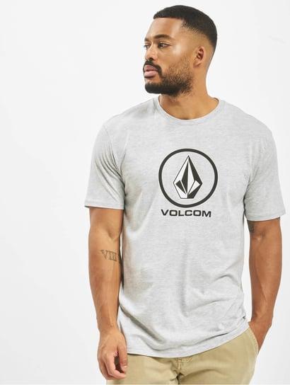 Volcom Overdel T shirts Line Euro Basic i blå 377122