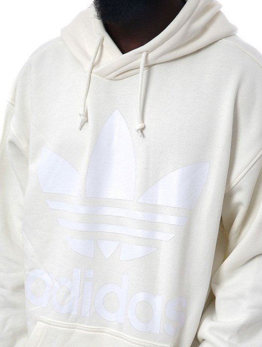 Details about Adidas Originals Adidas Classic Flock Hoody Trefoil Zip Jacket Grey
