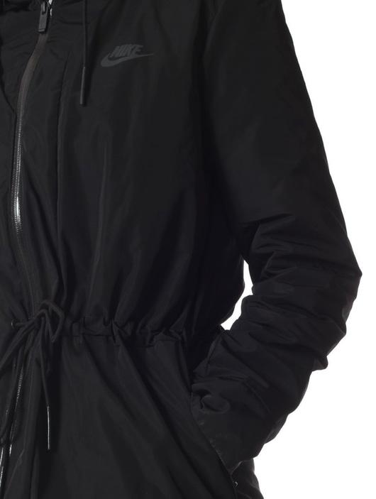 new product 82af6 682b2 Nike Sportswear Parka Black