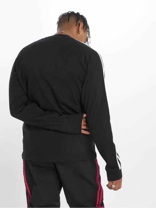 Adidas Originals 3-Stripes Longsleeve Black image number 1
