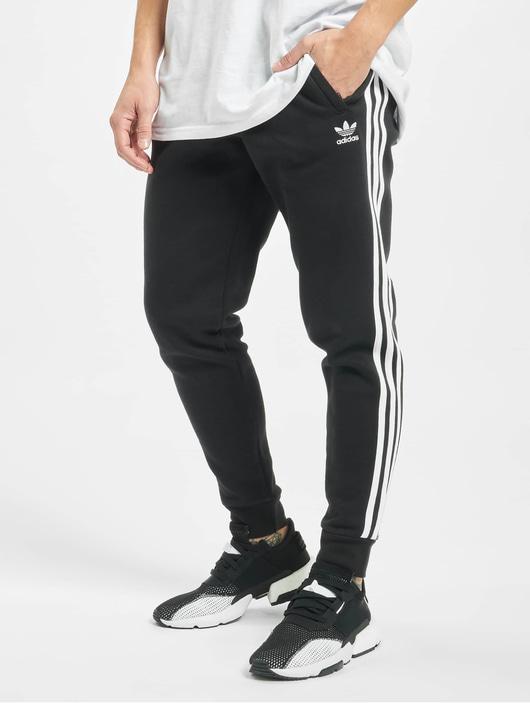 Adidas Originals 3 Stripes Sweat Pants Black