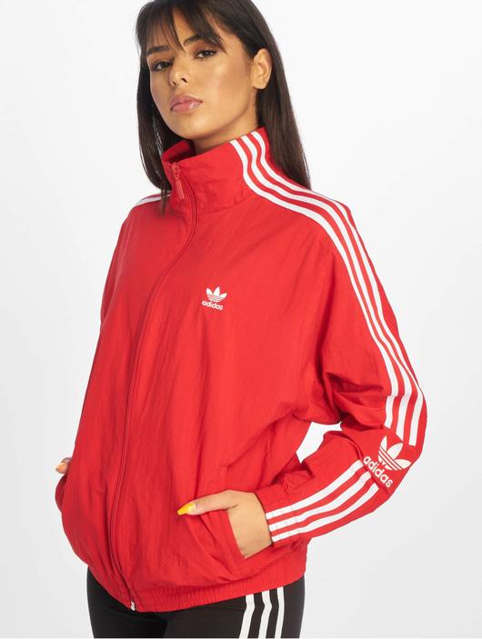 Adidas Originals Lock Up Track Jacket Scarlet