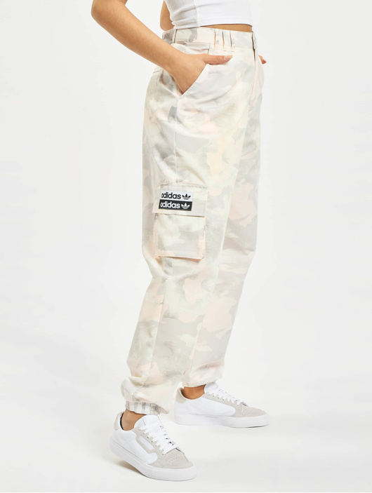 50% price on feet images of get new Adidas Originals Camo Pants Chalk White