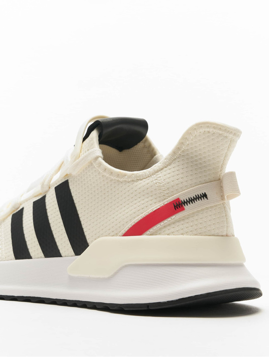 Adidas Originals U_Path Run Sneakers Off WhiteCore BlackShock Red