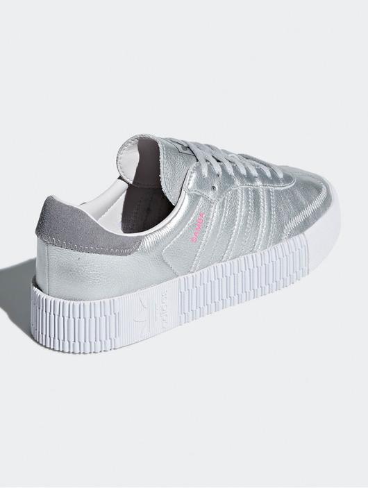 Adidas Originals Sambarose W Sneakers Silvern Metallic