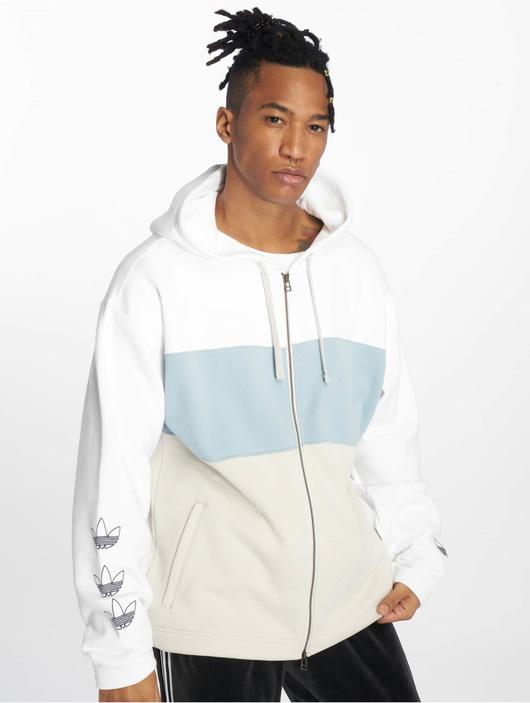 Adidas Originals Full Zip Hoody White
