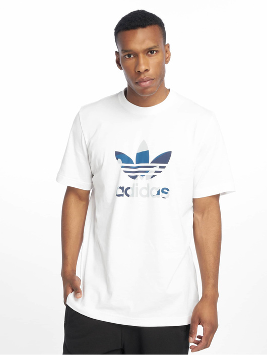 adidas Originals Camo Infill T Shirt White