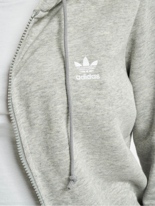 Adidas Originals Track Jacket Medium Grey Heather image number 3