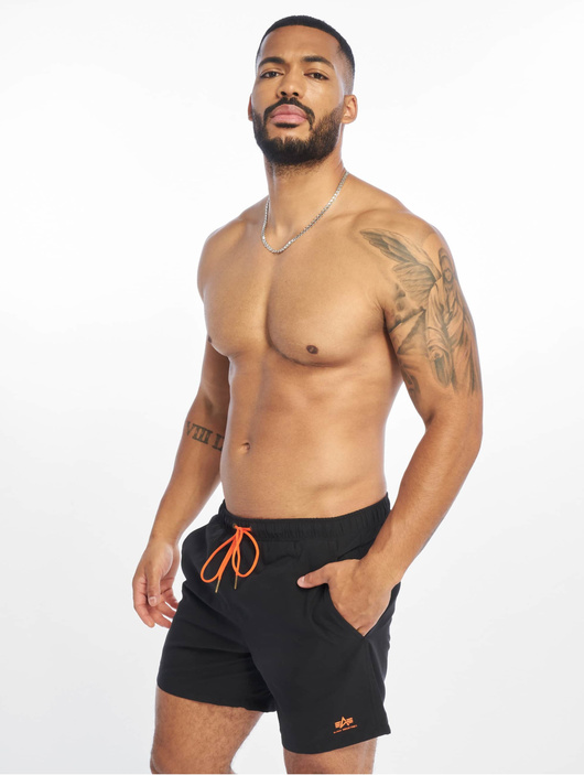Alpha Industries Basic Swim Shorts Dark Olive image number 0