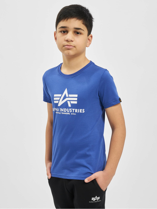 Alpha Industries Basic T-Shirt Kids/Teens Black image number 2