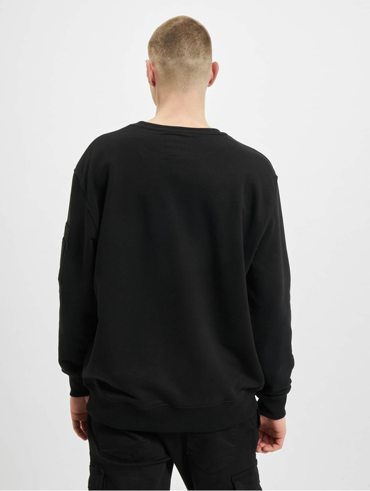 Alpha Industries Camo Print Sweatshirt Black/Black image number 1
