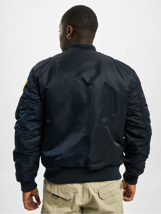 Alpha Industries MA-1VF NASA rep Blue image number 1
