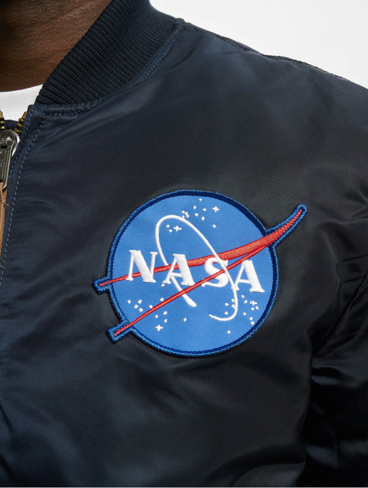 Alpha Industries MA-1VF NASA rep Blue image number 4
