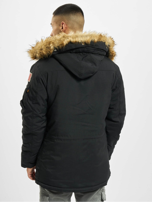 Alpha Industries Polar Jacket Dark Green image number 1