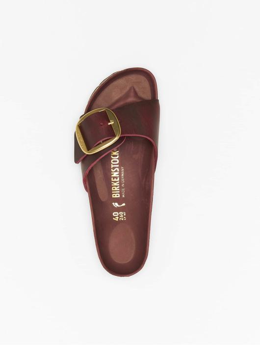 BIRKENSTOCK MADRID BIG Buckle FL Zinfandel Schuhe Sandalen