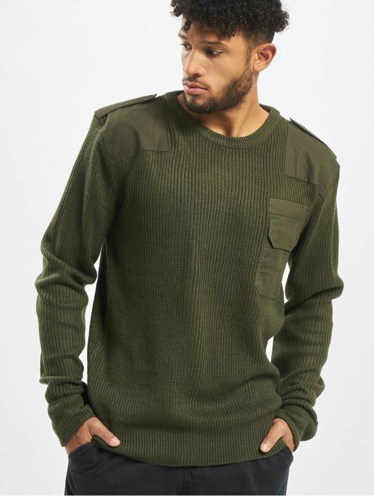Brandit BW Classic Sweatshirt Olive image number 0