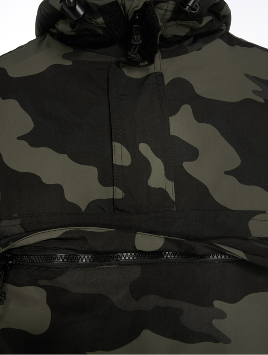 Brandit Windbreaker Jacket Black image number 3