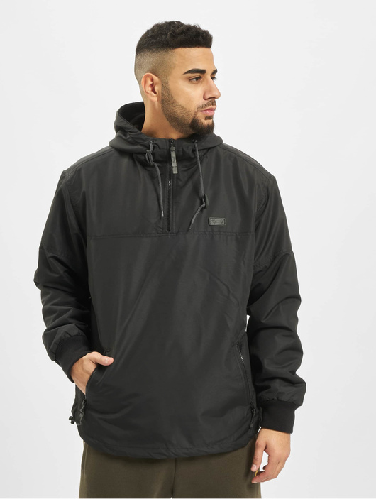 Brandit Luke Windbreaker Jacket Black image number 2
