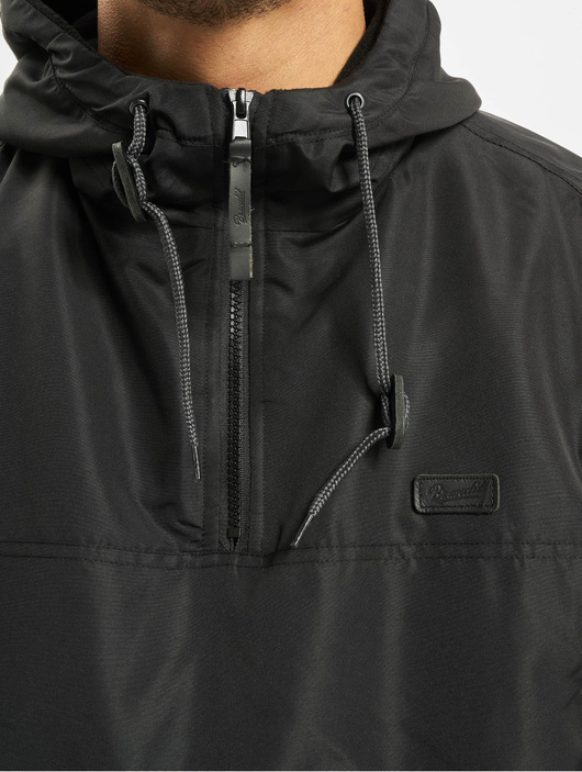 Brandit Luke Windbreaker Jacket Black image number 3