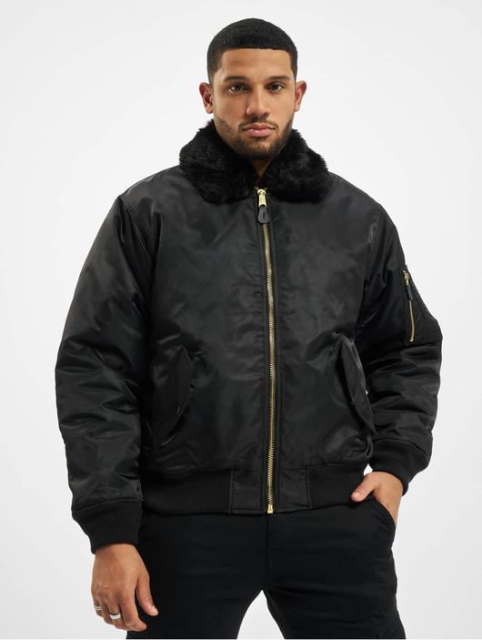 Brandit Ma2 Fur Collar Jacket Black image number 2