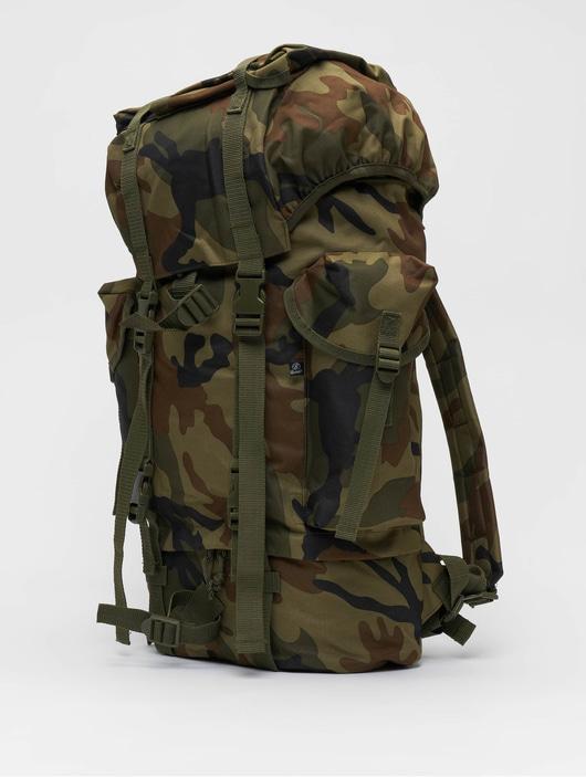 Brandit Nylon Backpack Woodland image number 1