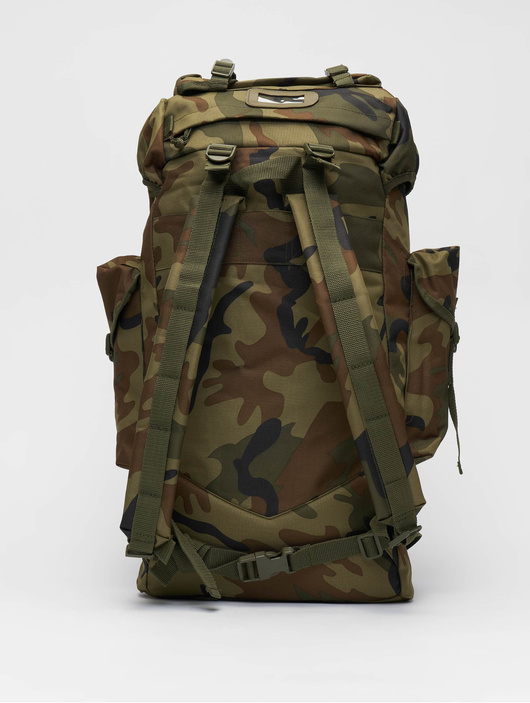 Brandit Nylon Backpack Woodland image number 2