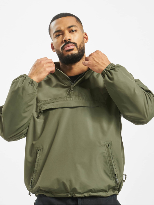 Brandit Light Windbreaker Jacket Olive image number 0