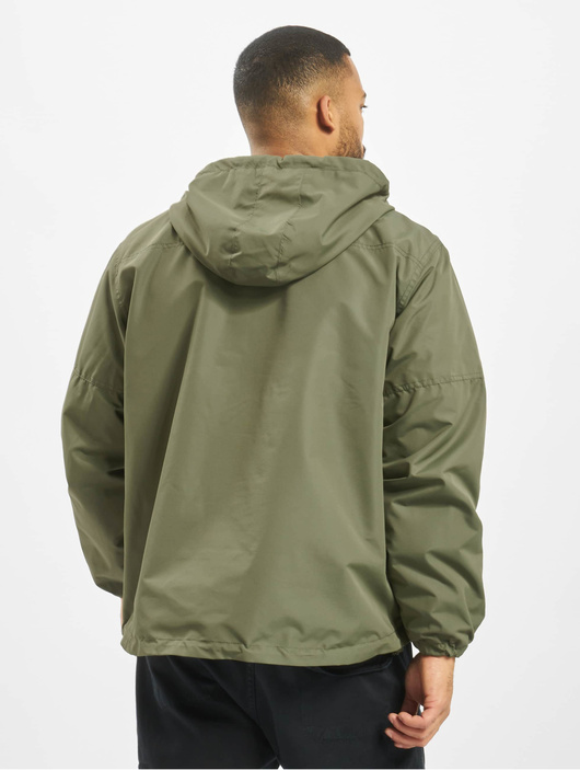 Brandit Light Windbreaker Jacket Olive image number 1