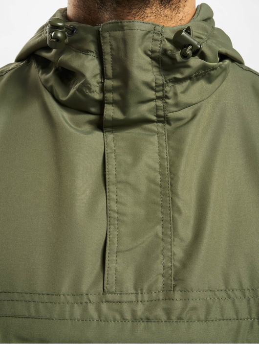 Brandit Light Windbreaker Jacket Olive image number 3