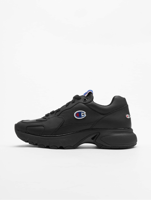 Champion RochesterCWA-1 Leather Low Cut Sneakers Black Beauty image number 0