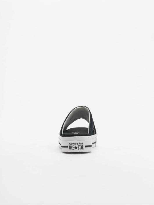 Converse One Star Sandal Slip Sneakers BlackEgretWhite