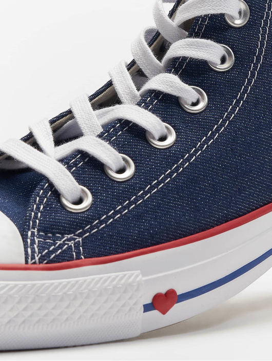 Converse Chuck Taylor All Star Hi Sneakers IndigoEnamel RedBlue
