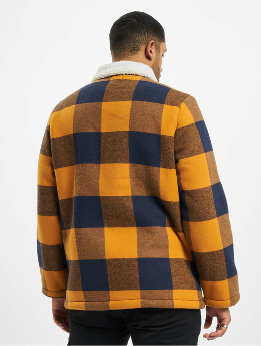 Eight2Nine Jacket Spice Brown/Dark Navy Check image number 1