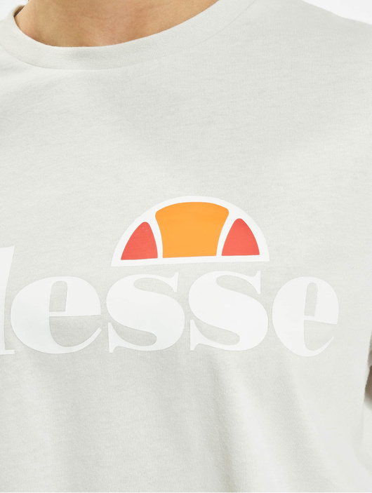 Ellesse Alberta Cropped T-Shirt Light Grey image number 3