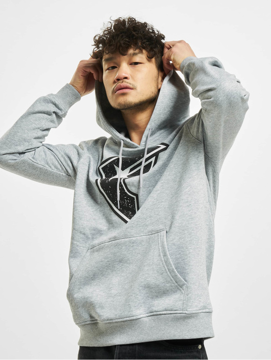 Famous Stars & Straps Composition Hoody Heather Grey image number 0