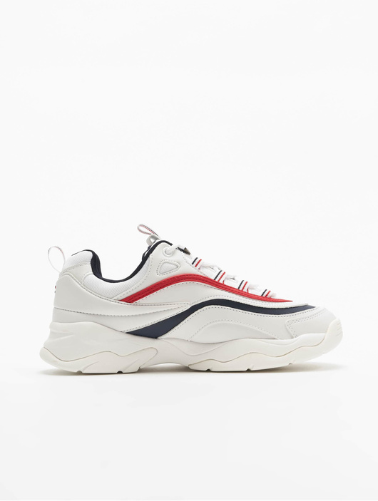 FILA Ray Low Sneakers WhiteFila NavyFila Red