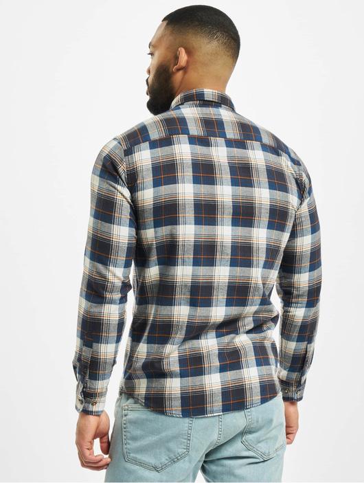 Jack & Jones jjeClassic Check Shirt Olive Night/Slim Fit image number 1