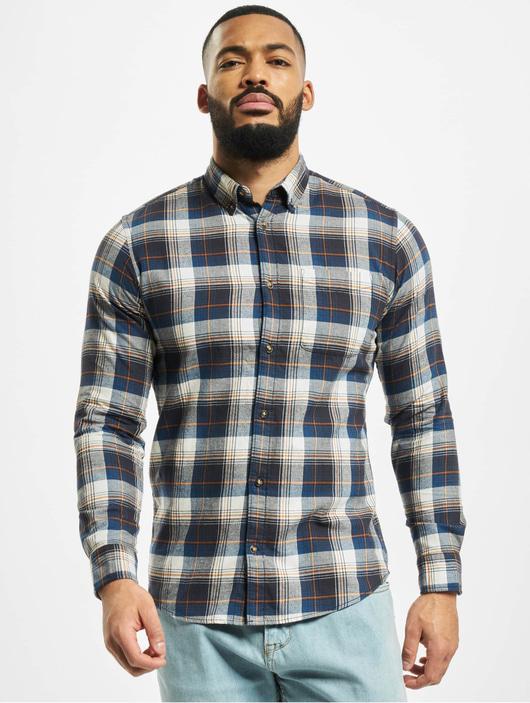 Jack & Jones jjeClassic Check Shirt Olive Night/Slim Fit image number 2