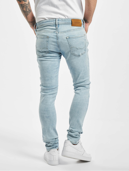 Jack & Jones jjiLiam Jjoriginal Skinny Jeans Blue Denim image number 1