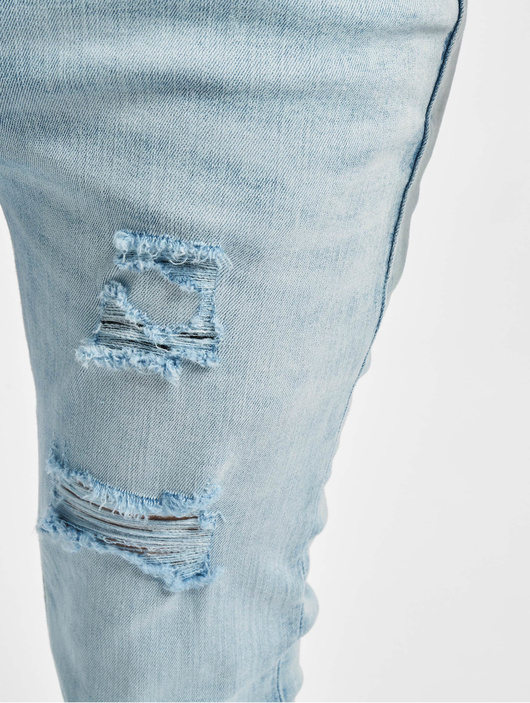 Jack & Jones jjiLiam Jjoriginal Skinny Jeans Blue Denim image number 4