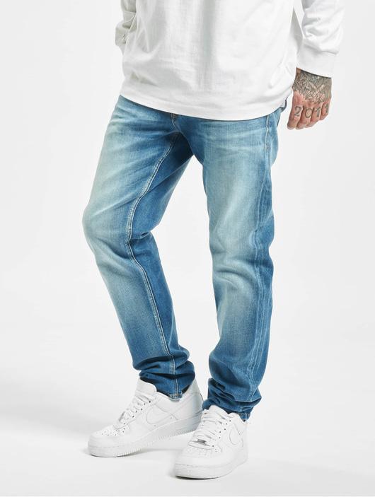 Jack & Jones jjiMike Jjoriginal Jos 411 Skinny Jeans Blue Denim image number 0
