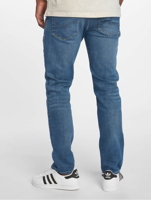 Jack & Jones jjiTim jjOriginal Slim Fit Jeans Blue Denim image number 1