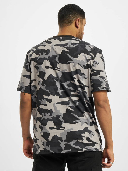 Karl Kani Kk Small Signature Camo T-Shirt Black image number 1