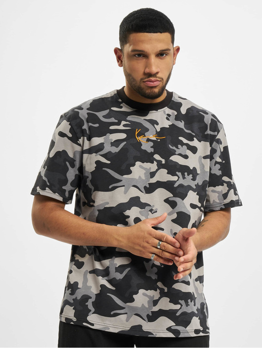 Karl Kani Kk Small Signature Camo T-Shirt Black image number 2