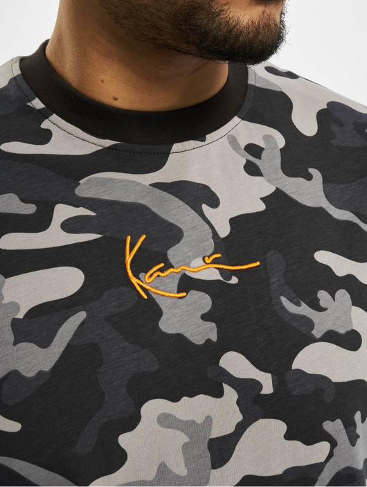 Karl Kani Kk Small Signature Camo T-Shirt Black image number 3