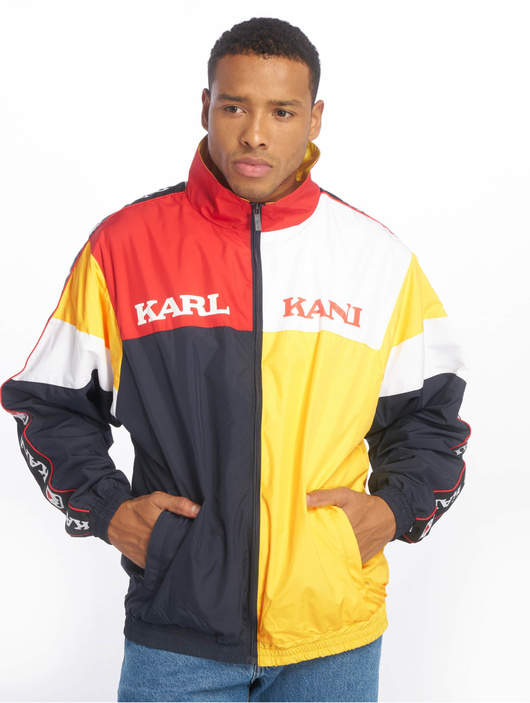 Karl Kani Retro Block Transition Jacket YellowRedWhiteBlue