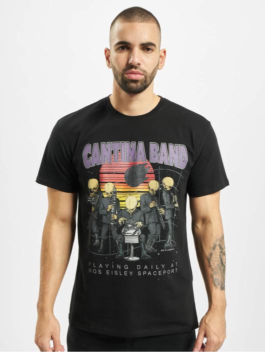 Merchcode Star Wars Cantina Band T-Shirt Black image number 2