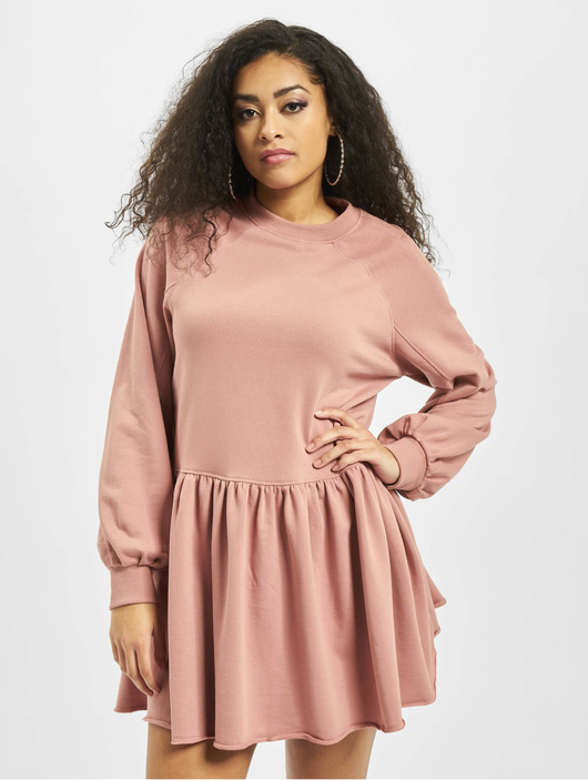 Missguided Damen Kleid Oversized Smock in rosa 740272